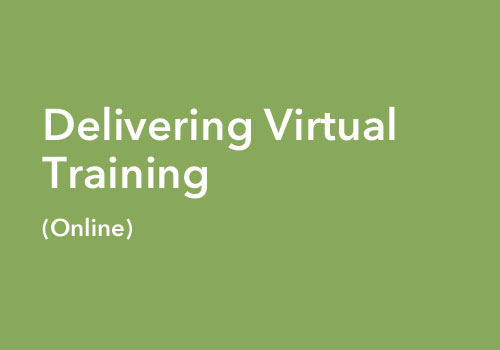 Delivering Virtual Training course